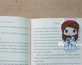 Large Magnetic Bookmarks • Angry High Lady and Her Doll
