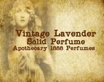 Vintage Lavender Solid Perfume