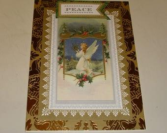Christmas Peace Angel Card