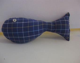 EcoFriendly Fish Cat Toy with Catnip