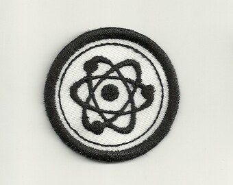 "2"" Physic's Merit Badge, Patch! Custom Made!"