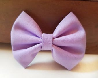 Pastel purple bow