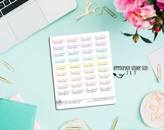 Dear Lord, Give Me Strength Planner Stickers!Perfect for ECLP, Inkwell Press, Happy Planner, Recollections, etc.