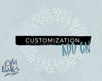 Customization add-on