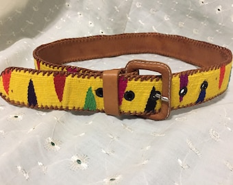 Colorful Guatemalan Belt