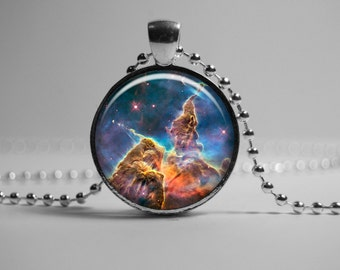 Cosmos Necklace Jewelry Pendant