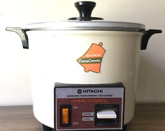 Vintage Hitachi Chime-O-Matic Automatic Food Steamer Rice Cooker RD-4053