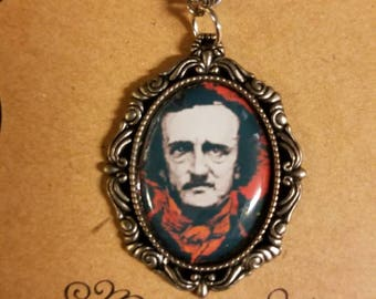 Edgar Allan Poe themed Necklace