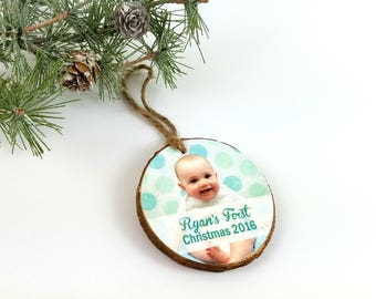 Christmas Ornament, Holiday photo ornament, Tree Decoration, Personalized Christmas Ornament, Photograph Ornament, First Christmas