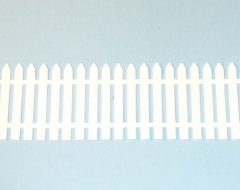 Nice Set of Quickutz Picket Fence Border Die Cuts