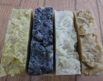 4 Natural Handmade Soaps