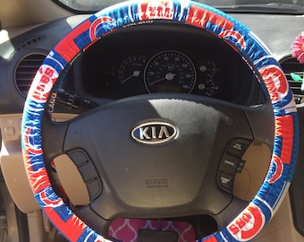 Cubs Steering Wheel Cover