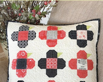Perky Posies - Carried Away Quilting CAQ-018