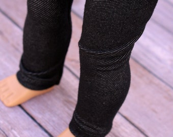 Fits like American Girl Doll Clothes - Black Jeggings | 18 Inch Doll Clothes