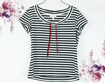 Striped Sailor Style Top