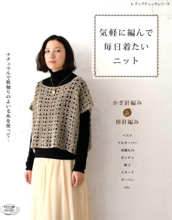 Schöne und komfortable Alltag stricken und Häkeln Kleidung