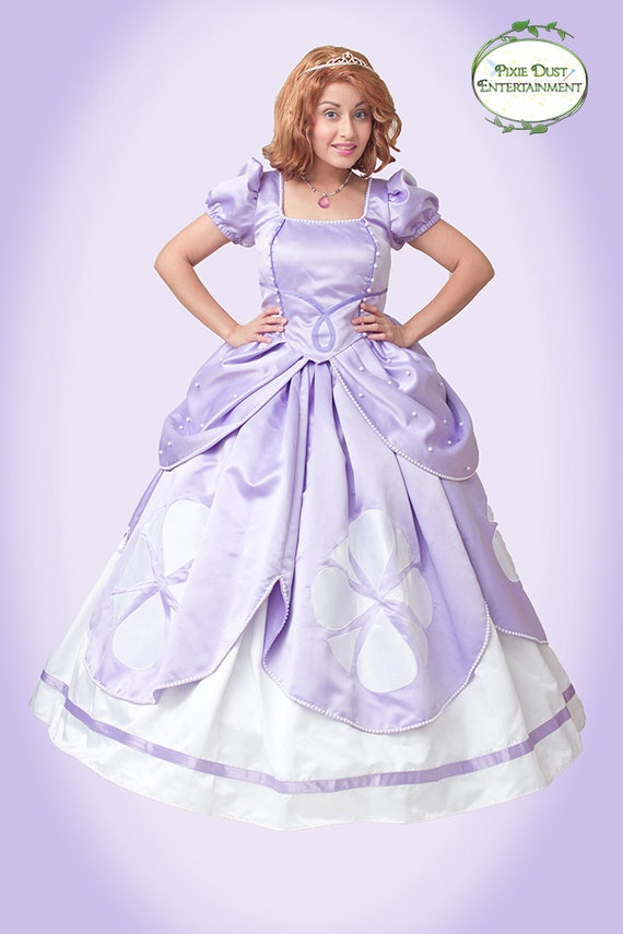 First Princess Ladies Costume Custom Made Adult Sizes.