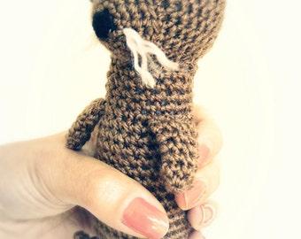 Otter Amigurumi Pattern - Otter Crochet Pattern