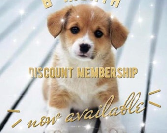 6 Month Discounted Membership subscription