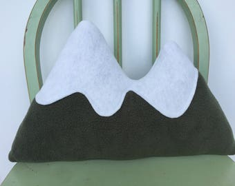 Plush Handmade Fleece Mountain Range Toy