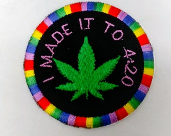 I MADE IT TO 4:20 adult merit badge