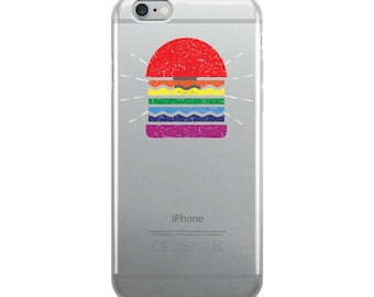 LGBT Cheese Burger iPhone Case (Various Sizes)