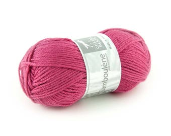 "Ball of yarn ""BAMBOULENE"" hydrangea 300 white horse"