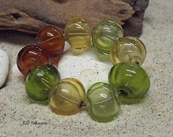 Hedgerow Hollow Beads, Artisan Lampwork Glass Beads, SRA, UK