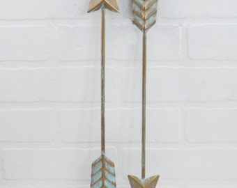 Arrow Decor,Wall Arrow,Metal Wall Decor,Living Room,Arrow Nursery Decor,Metal Arrow,Bedroom Wall Decor,Bohemian,Tribal
