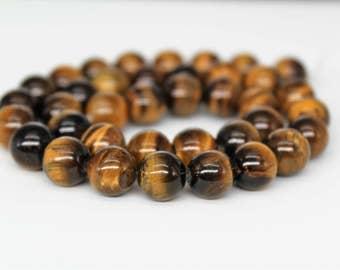 Tiger's Eye Round Loose beads 6/8/10/12mm
