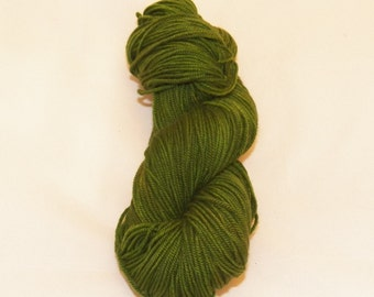 Juniper- Merino Worsted Weight Yarn- Hand Dyed- OOAK- 0007