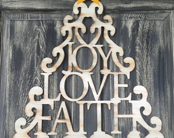 Metal Joy, Love , Faith Tree