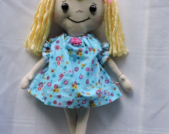 Rag Doll with Adoption Certificate
