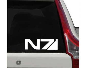Mass Effect and  N7 Decal