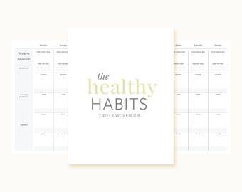 Healthy Habits 12-week Workbook