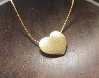 Gold Heart Necklace, Best Friend gift, Heart Necklace, Gift for her, Gold Necklace mom necklace, gift for her