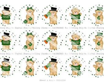 St. Patricks Day Bottle Cap Images