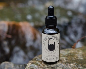 Beard Oil | Creek Side Scent (Bearded Missionary Brand)