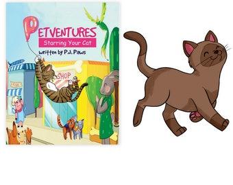 Personalized Book Tonkinese, Tonkinese Gift, Tonkinese art, Tonkinese mom, Tonkinese dad, Tonkinese book, Tonkinese portrait, Tonkinese cat