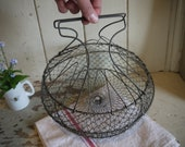 Vintage Wire Basket - Egg...