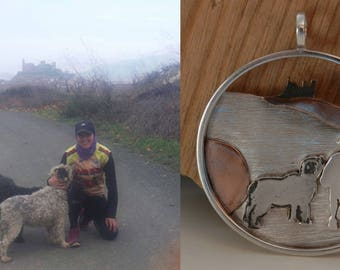Custom jewelry from photos Pet portrait Memory of your dog