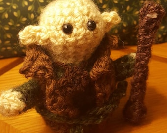 Amigurumi Solas: Dragon Age Inquisition