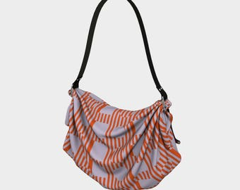 Chroma Op Shapes Origami Tote