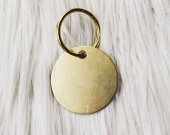 customize your own brass tag