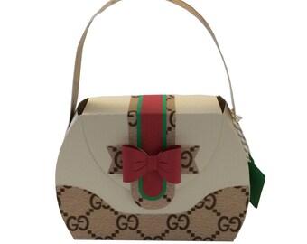 Gucci purse favor box (small size)