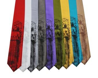 Gardien de Cleveland de transport cravates, sur rouge, blanc, argent, gris foncé, violet, Vert Olive, or, Turquoise ou Bronze