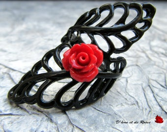 black and red rose ring-9