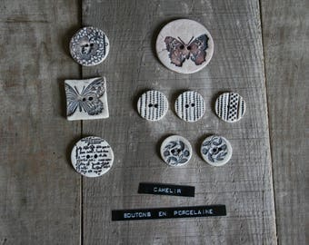 ref 014 porcelain 9 buttons