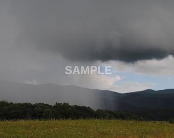 Landscape #4 - is it raining? - DIGITAL DOWNLOAD
