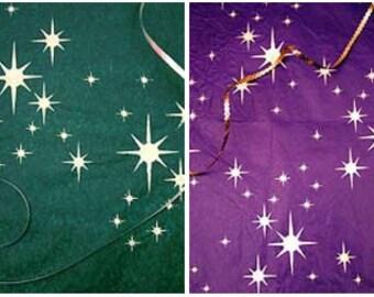 Small Star Cluster Stencil ©